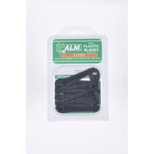 ALM Plastic Blades -  with Small Hole