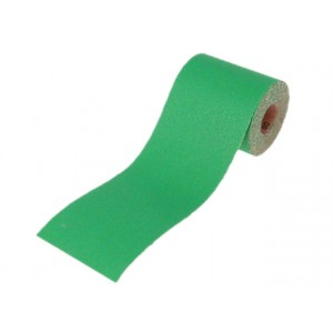 Faithfull Alox Abrasive Paper Roll 100mm 120 Grit Per Metre