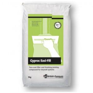 British Gypsum Easifill Plaster Gyproc 5kg