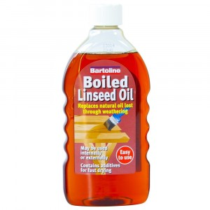 Bartoline Flask Boiled Linseed Oil - 500ml