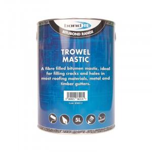 Bondit Trowel Mastic Black 5 Litre