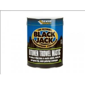 Everbuild Bitumen Trowel Mastic 2.5 Litre