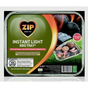 Zip 100% Natural Disposable BBQ Tray