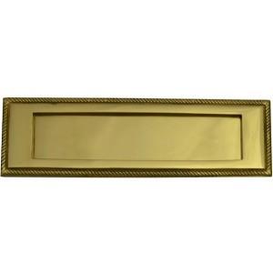 """Centurion Georgian Brass Letter Plate 10"""" x 3"""""""