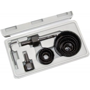 Amtech 11pc Hole Saw Kit