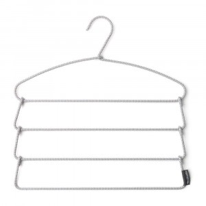 Brabantia Soft Touch Trouser Hanger Metal Grey