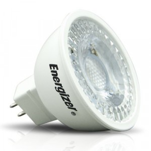 Energizer LED Energy Saving Light Bulb GU5.3 4.8W Warm White/White