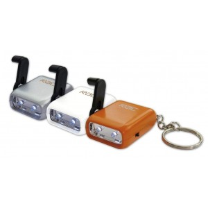RAC Eco Mini Wind Up Torch - Single Torch (Colours may vary)