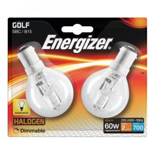 Energizer 46W (60W) Golf Halogen SBC (2)