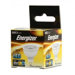 Energizer LED GU5.3 350LM 4.8W Cool White