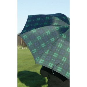 Charles Buyers Golf Umbrella Green Tartan