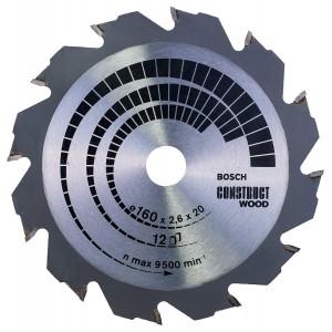 Bosch Circular Saw Wood 160X20/16X12