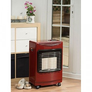 Lifestyle Mini Cabinet Heater - Gas - Red