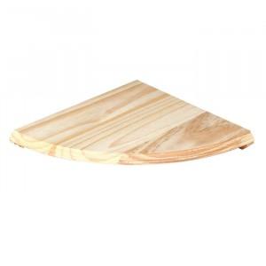 Core Products Natural Wood Corner Shelf Kit Pine 380mm
