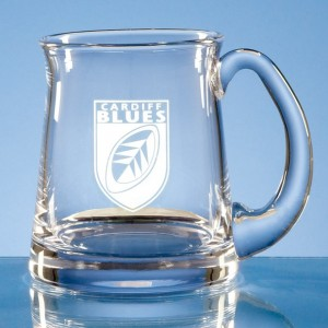 Crystal Galleries 0.55ltr Handmade Toddington Beer Tankard