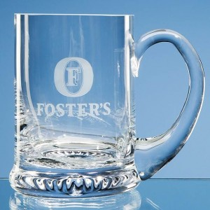 Crystal Galleries 0.45ltr Handmade Star Base Tankard