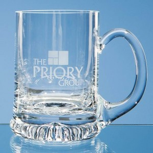 Crystal Galleries 0.225L Handmade Star Base Tankard