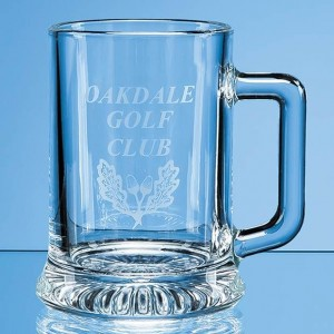 Crystal Galleries 0.29L Straight Sided Beer Tankard