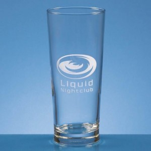 Crystal Galleries 0.58L Straight Sided Beer Glass