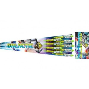 Diamond Fireworks Galactic Rocket Pack of 9