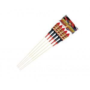 Diamond Fireworks Mega Hawk Rocket Pack Pack of 5