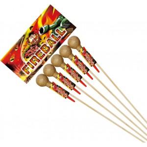 Bad Boy Fireball Rocket Pack of 5