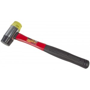 Amtech 40mm Double Face Hammer - Fibreglass Shaft