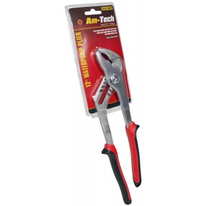 "Amtech 12"" Waterpump Pliers - Comfort Grip"