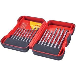 Amtech Masonry Drill Bits 15 Pieces