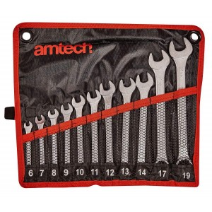 Amtech 11pc Combination Spanner Set