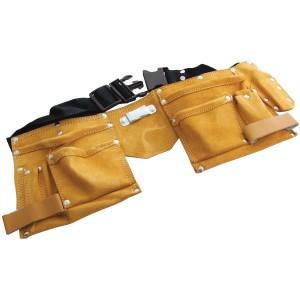 Amtech 11 Pocket Leather Tool Belt