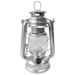 Amtech 15LED Hurricane Lamp Silver