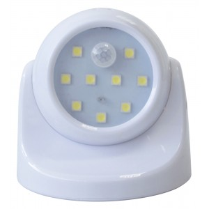 Amtech 9 SMD LED Wireless Motion Sensor Light