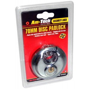 Amtech 70mm Disc Padlock