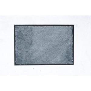 William Armes Dandy Microfibre Washable Mat 80 x 60cm Light Grey