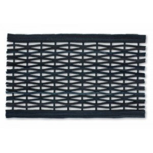 William Armes Dandy Link Mat from Recycled Tyres 60x35cm