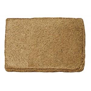 Dandy Melford Hand Woven Doormat Natural Coir - 60 x 35cm