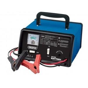 Draper 6-12V 5.6A Battery Charger