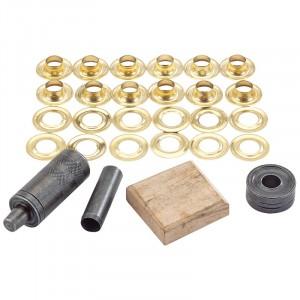 Draper Tarpaulin Grommet Repair Kit 10mm
