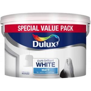 Dulux Matt Emulsion Pure Brilliant White 7. Litre