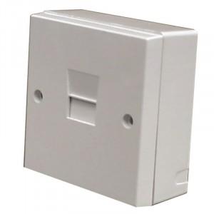 Dencon Telephone Master Socket Box Surface Mounted