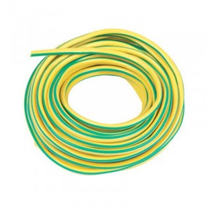 Earth Sleeving Green/Yellow 3mm