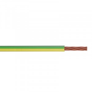 Earth Cable Green/Yellow Single 4mm