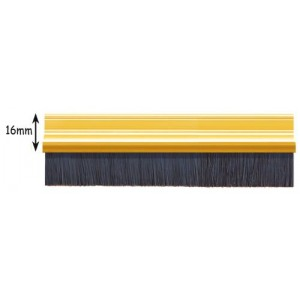 Exitex Brush Strip 2135mm - Gold Coloured