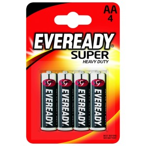 Eveready Super Heavy Duty AA
