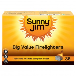 Sunny Jim Firelighters - 36 Pieces