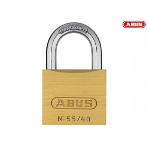 Abus 55 Series Brass Padlock 40mm