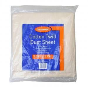 Lynwood Cotton Twill Dust Sheet 12' x 9'