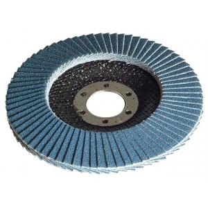 Faithfull Abrasive Jumbo Flap Disc 100mm Dia. Medium Grit
