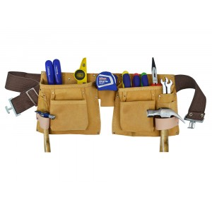 Faithfull Double Tool and Nail Pouch